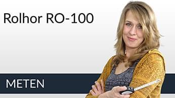 Meetinstructies Raamrolhor RO-100