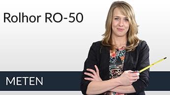 Meetinstructies Raamrolhor RO-50