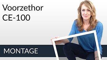 Montage video Voorzethor CE-100